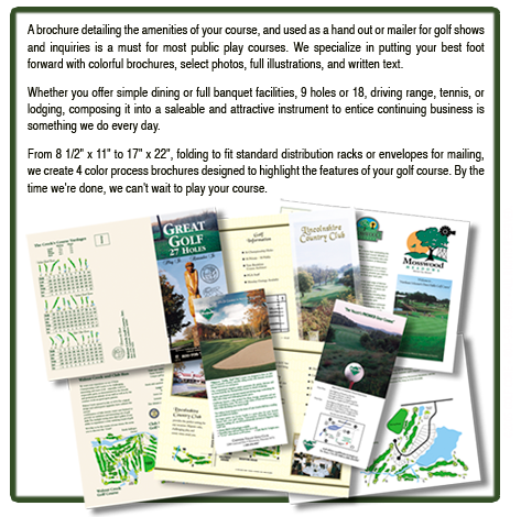 brochures and rack card info